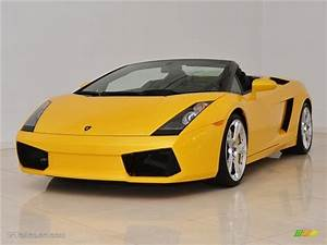 Giallo Midas (Yellow) 2008 Lamborghini Gallardo Spyder E ...