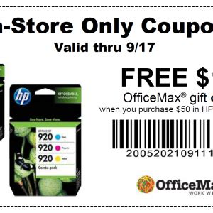 Office Depot Coupons For Printer Ink by Officedepot Copy And Print Depot 25 50 Or More