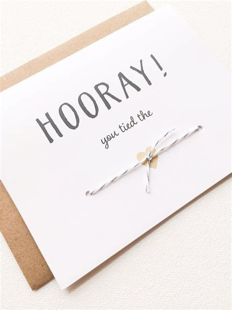 Congratulations on your graduation and get ready for a new adventure! Hooray!   Wedding congratulations card, Wedding card diy, Diy wedding gifts