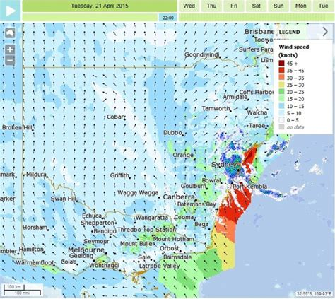 bureau sydney weather bureau could not forecast exactly where nsw
