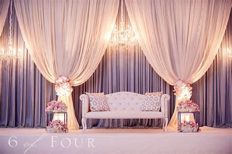 wedding reception decor shalini  nish married