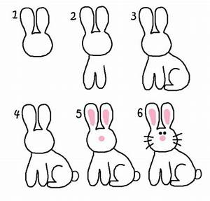How to draw a cute bunny | Easter | Pinterest | Bunnies ...