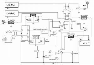 5  Complete Circuit Diagram Of Charger Unit And