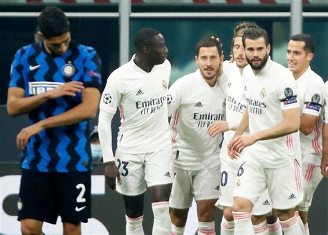 Real Madrid Sink Inter Deeper Into UCL Hole