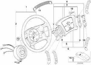 Airbagmodul Fahrerseite - Bmw E38    E39 - Bmw Teile