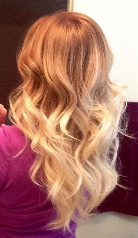 strawberry blonde hair ombre beauty hairstyles