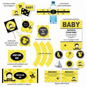 Bumble Bee Baby Shower CutestBabyShowers com