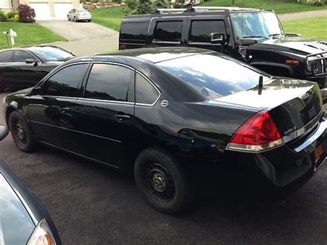 Sell Used 2007 Chevy Impala Police 9c1 Black 75k In New Windsor, New York, United States, For Us