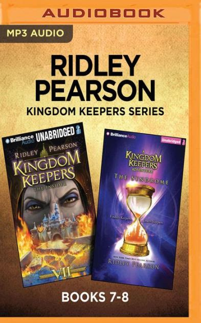 Ridley Pearson Kingdom Keepers Series Books 78 The