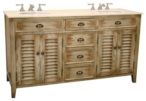 abbeville 60 in double sink bath vanity shabby chic