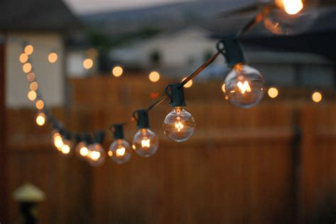 how to string lights outside outdoor room ambience globe string lights the garden glove