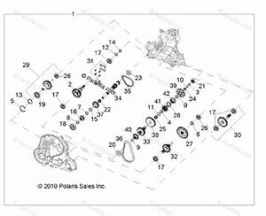 Polaris Atv 2016 Oem Parts Diagram For Drive Train Main
