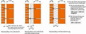 Zweischaliges Mauerwerk Mit Luftschicht : 2 ausf hrungstypen und hinweise zum wandaufbau lebensraum ziegel ~ Frokenaadalensverden.com Haus und Dekorationen