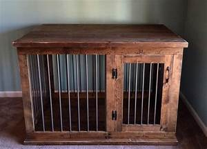 custom dog kennel furniture dog crate furniture hinged With dog crate entry table