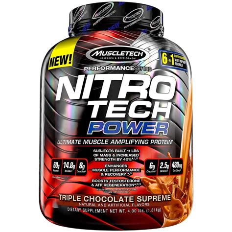 MuscleTech Nitro Tech Power - Whey Protein - Products - BC