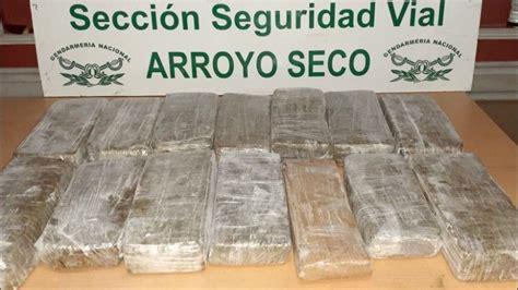 detectan una encomienda de marihuana en la region
