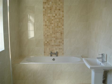 beautiful tile panels  bathroom walls lentine