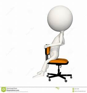 Hoagie Sitting On Chair Backwards Royalty Free Stock Image ...