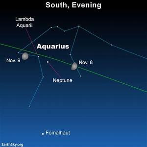 Moon near Neptune on November 26 | Tonight | EarthSky