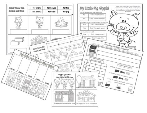 the three little pigs preschool activities tales lessons ideas pintables and more for teachers 753