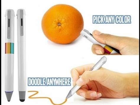 pen that scans colors scribble pen scan draw in any color