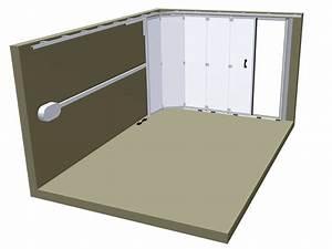 Porte de garage sectionnelle latérale Portes de garage