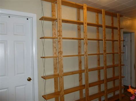 Cheap Bookshelves by Cheap Easy Low Waste Bookshelf Plans Home Project