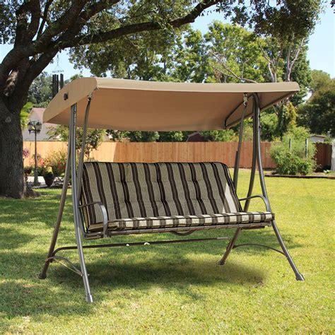 sears patio swing canopy replacement garden oasis 2 seat swing canopy garden ftempo