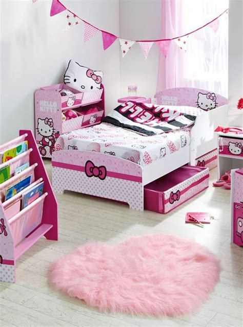 hello kitty bedroom design
