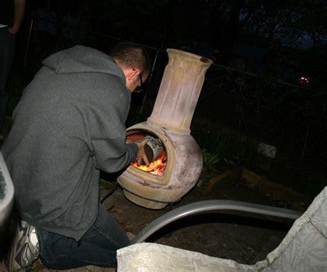 diy fire fragrances    chiminea  fireplace