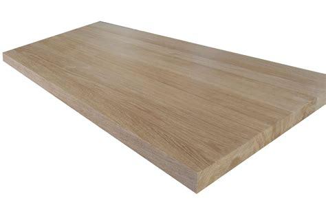 plan de travail en chne deboisec plan de travail dessus de table en chne massif qualit bnisterie standard
