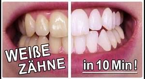Weiße Zähne Hausmittel : wei e z hne in 10 minuten gelbe z hne aufhellen mit diesen hausmittel ~ Frokenaadalensverden.com Haus und Dekorationen