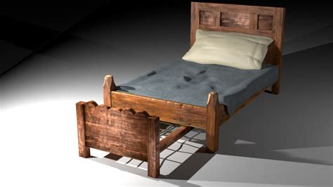 artstation medieval bed burak yalin