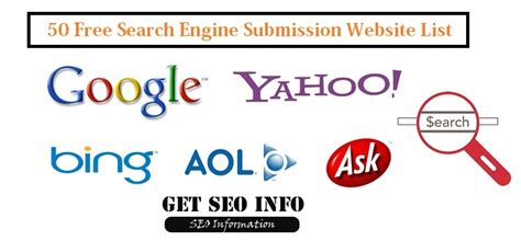 50 Free Web Submissions, Search Engine Submission Site