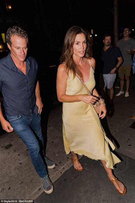 Cindy Crawford and Rande Gerber rock two different looks ...
