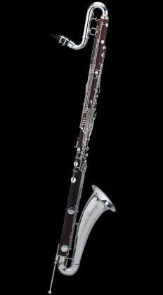 instruments 26 e flat contralto clarinet silver plated