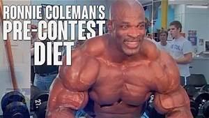 Watch  Ronnie Coleman U0026 39 S Pre Contest Diet  U2013 Fitness Volt
