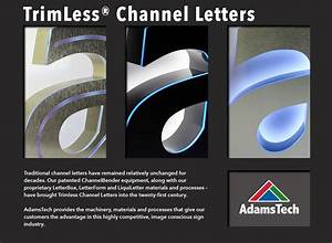 Trimless channel letters pictures to pin on pinterest for Trimless channel letters