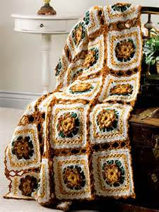 Autumn Crochet Afghan Patterns