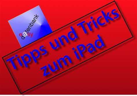 Tipps Und Tricks Easydatenbank