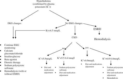 Hyperkalemia Algorithm Hyperkalemia Nursing Notes