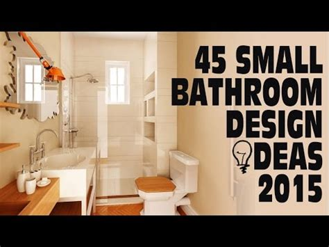 bathroom decor ideas for small bathrooms 45 small bathroom design ideas 2015
