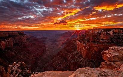 Canyon Grand Sunrise Resolution Widescreen Wallpapersafari