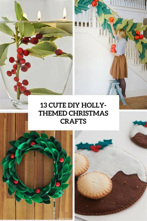 stylish christmas crafts 13 diy themed crafts shelterness