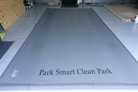 garage floor mat park smart special edition clean park