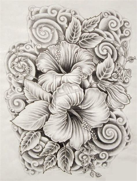 Ilove Drawings Beautiful Flower Drawings And Realistic