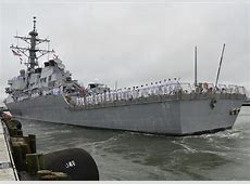 US and Allied Warships off the Syrian Coastline Naval
