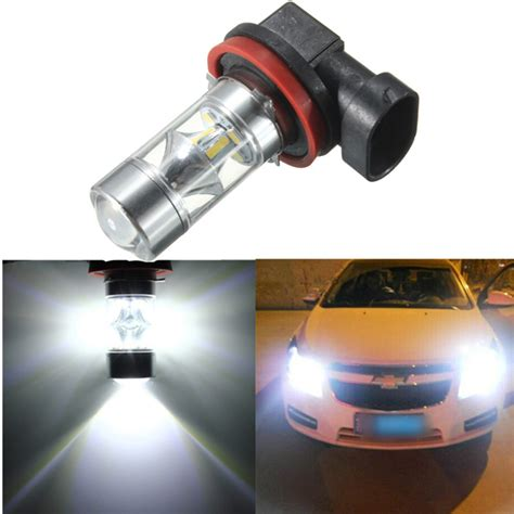 h11 led fog light bulb h8 h11 12 smd 2835 led light 60w car fog driving light