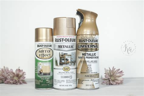 rust oleum metallic spray paints ka styles