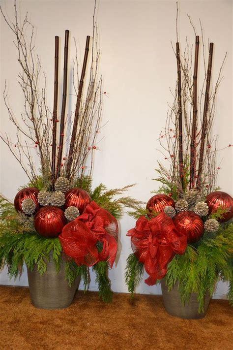 kleine gestecke weihnachten 1001 ideen f 252 r weihnachtsgestecke zum basteln